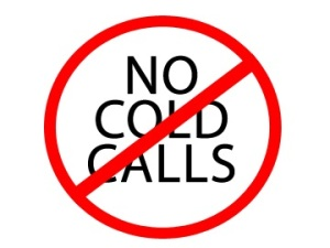 No more cold calls