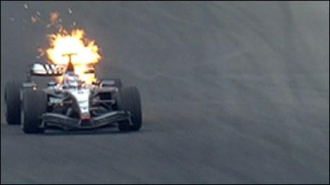 McLaren Mercedes 2004 Engine Fail