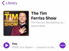 Tim Ferriss Show Podcast